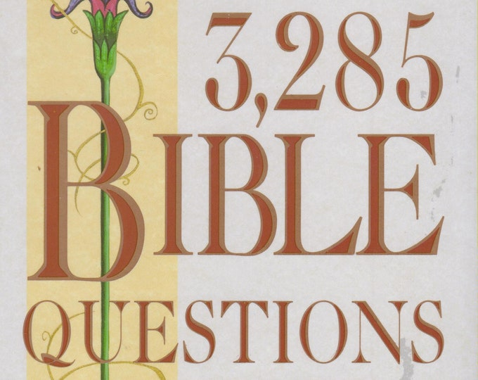 3,285 Bible Questions & Answers   (Hardcover, Religion, Puzzles) 1990