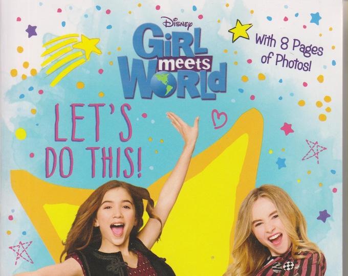 Disney  Girl Meets World Let's Do This!  (Girl Meets World Junior Novel) (Paperback, Disney) 2016