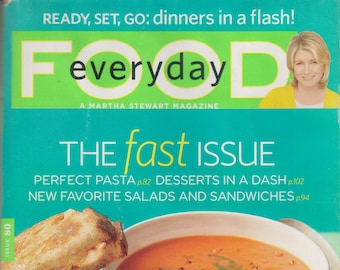 Martha Stewart Everyday Food March 2011 The Fast Issue (Magazine, Cooking)