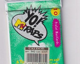 1991 Yo! MTV Raps ProSet MusiCards   (Vintage Trading Cards)