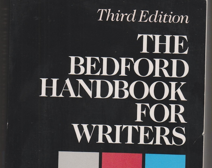 The Bedford Handbook For Writers by Diana Hacker (Paperback, Reference, Writing)  1991