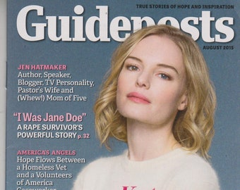 Guideposts August 2015 Kate Bosworth Drawing Spiritual Strength From Her Latest Role  (Magazine, Inspirational)