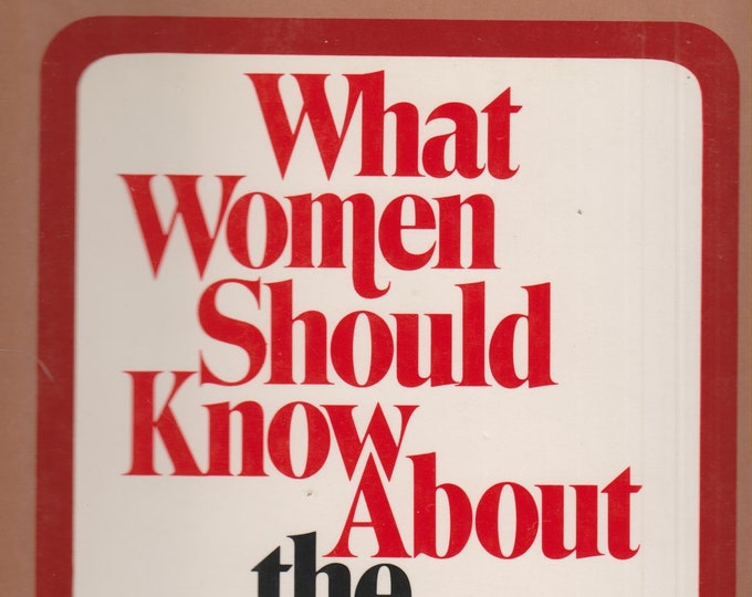 What Women Should Know About The Breast Cancer Controversy (Hardcover, Health, Breast Cancer) 1973