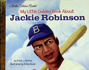 My Little Golden Book About Jackie Robinson  (Hardcover: Children's Picture Book)  2018