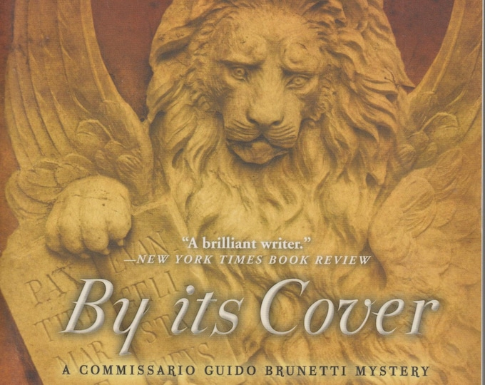By Its Cover (A Commissario Guido Bruntetti Mystery) by Donna Leon  (Softcover: Mystery, Suspense)  2015