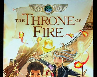 The Throne of Fire by Rick Riordan  (Softcover: Graphic Novel) 2015