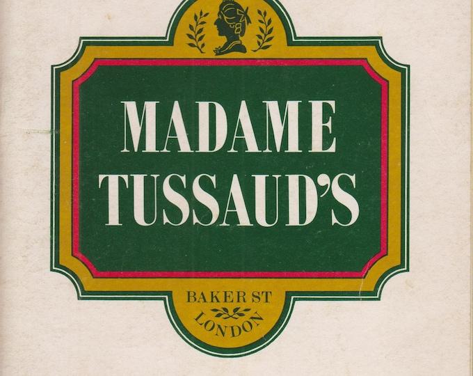 Madame Tussand's Baker St London   (Staple bound Booklet: Travel, London, England) 1977