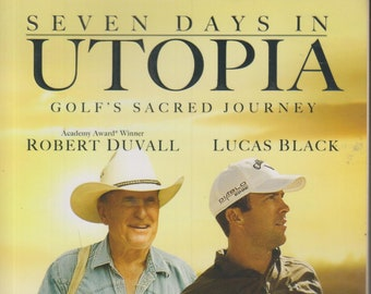 Seven Days in Utopia - Golf's Sacred Journey by David L Cook PhD  (Softcover: Fiction, Christian) 2011