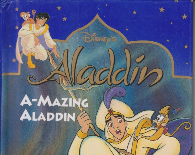 A-mazing Aladdin (Disney's Aladdin)  (Hardcover, Children's Chapter Books) 1993