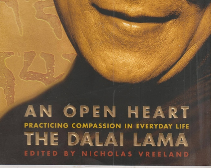 An Open Heart The Dalai Lama (Hardcover, Buddhism,Self-Help, Inspirational) 2001 First Edition