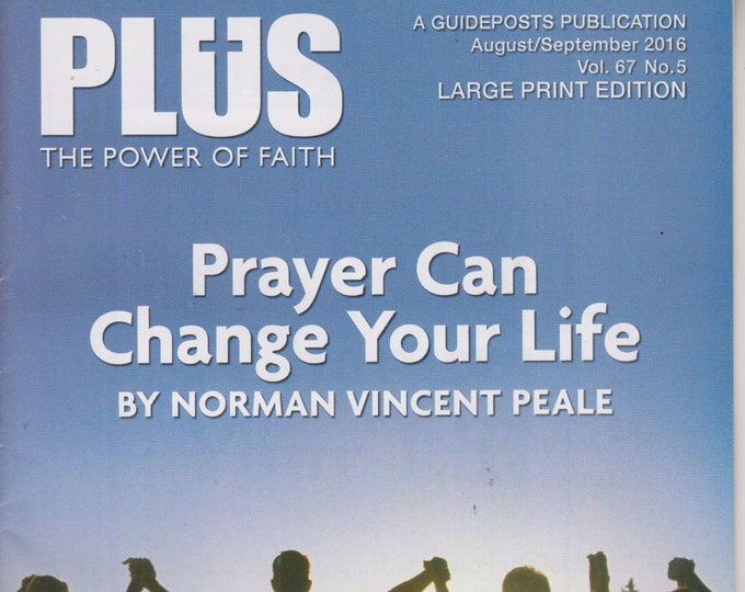Plus August/September 2016 Prayer Can Change Your Life   ( Large Print Magazine, Inspirational)
