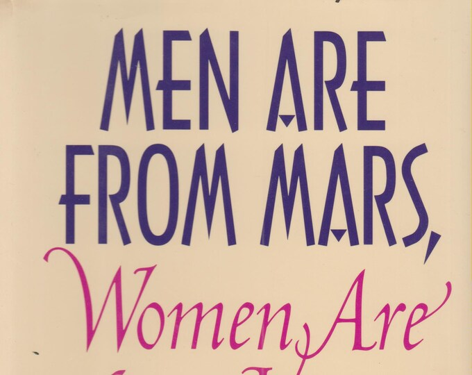 Men Are From Mars, Women Are From Venus  (Hardcover, Self-Help, Relationships)  1994