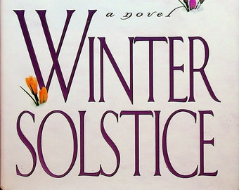 Winter Solstice by Rosamunde Pilcher (Hardcover: Fiction, First Edition) 2000