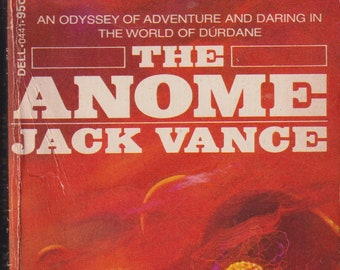 The Anome by Jack Vance (Vintage Package: Fantasy, Sci-Fi) 1973