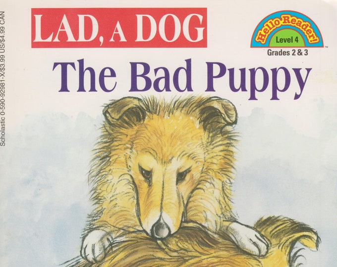 Lad, a Dog - The Bad Puppy (Hello Reader Level 4 Grades 2 & 3) (Softcover: Children's, Early Readers) 1998