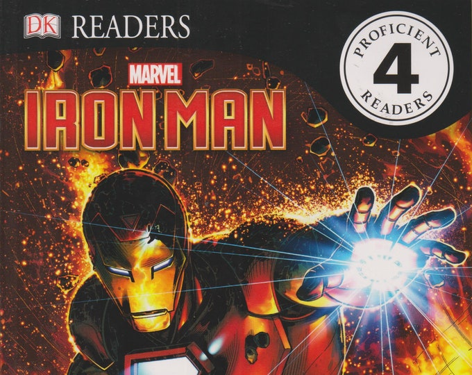 The Rise of Iron Man  (DK Readers Level 4 Proficient Readers) (Softcover: Children's, Marvel ) 2017