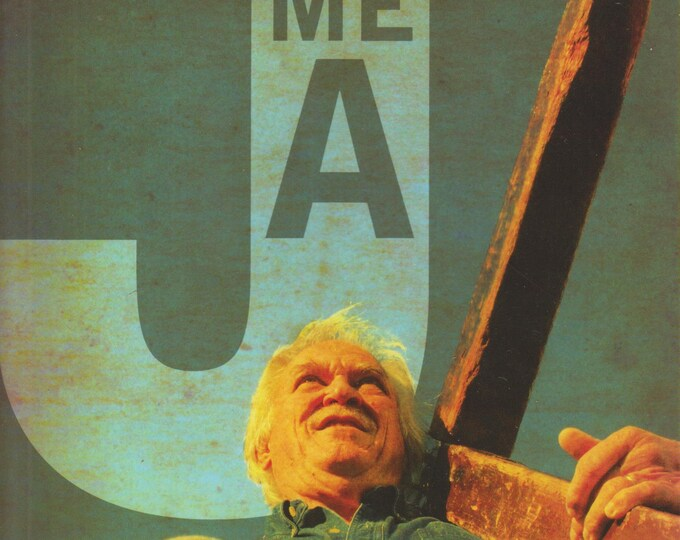 """Give Me a """"J"""" It's All About Jesus by Arthur Blessitt (Softcover,  Religion, Christianity)  2007"""