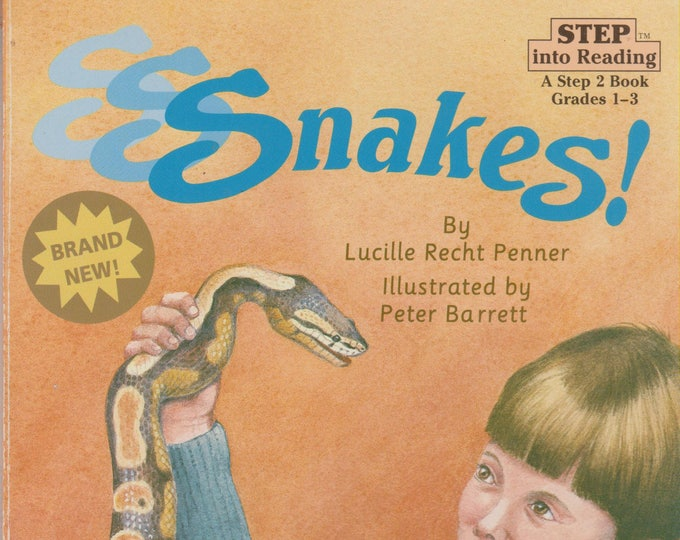 S S Snakes  (Step into Reading, Step 2 Grades 1 - 3)  (Softcover, Educational) 1994