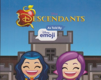 Disney's Descendants As Told by Disney Emoji Cinestory Comic (Paperback: Disney, Descendants) 2018