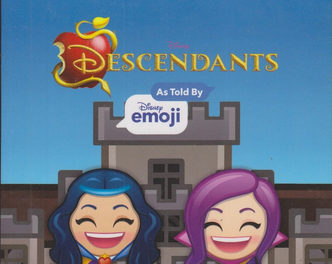 Disney's Descendants As Told by Disney Emoji Cinestory Comic (Paperback: Disney, Descendants) 2018