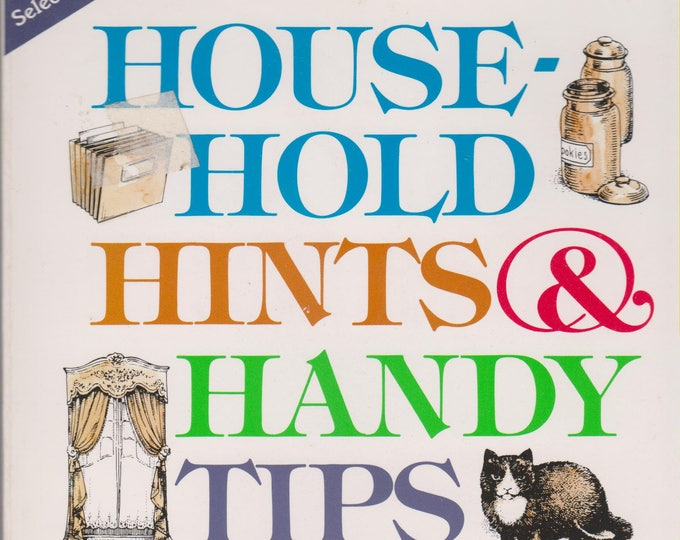 Household Hints & Handy Tips (Softcover: Reference) 1998