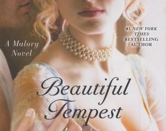 Beautiful Tempest  by Johanna Lindsey (A Malory Novel) (Hardcover, Historical Romance) 2017
