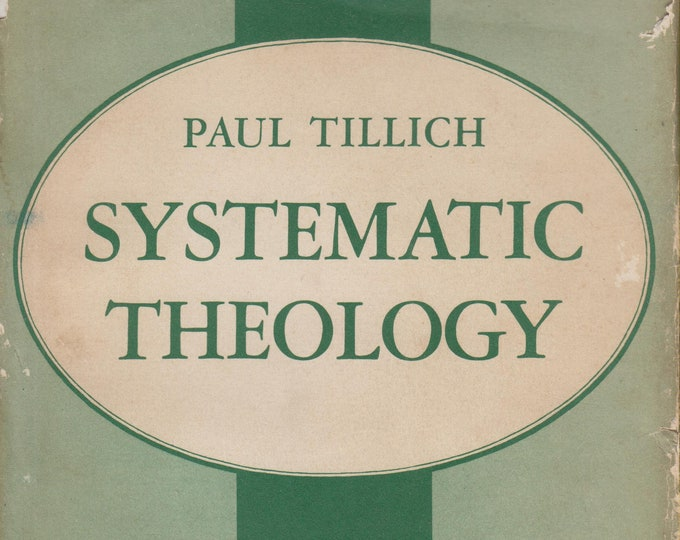 Systematic Theology II Existence and The Christ  (Hardcover, Theology, Religion) 1958