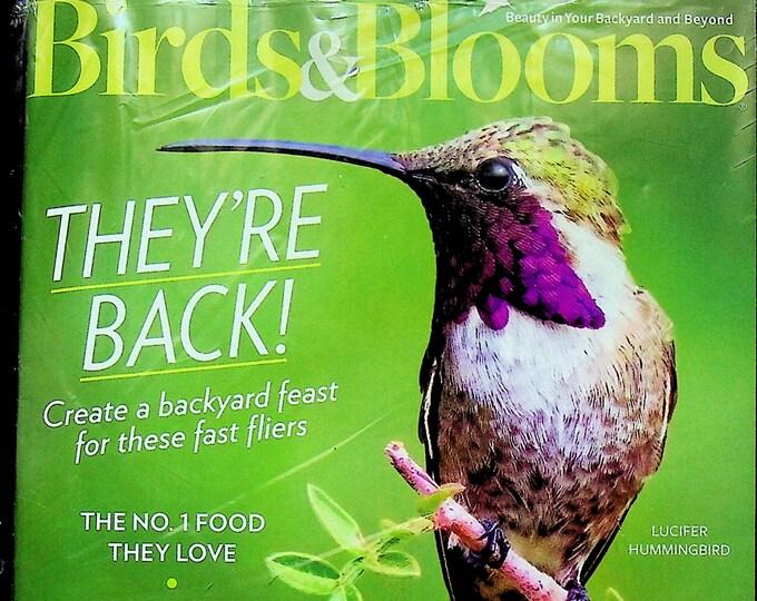 Birds & Blooms June July 2021 Annual Hummingbird Issue - They're Back! (Magazine: Birds, Gardening)
