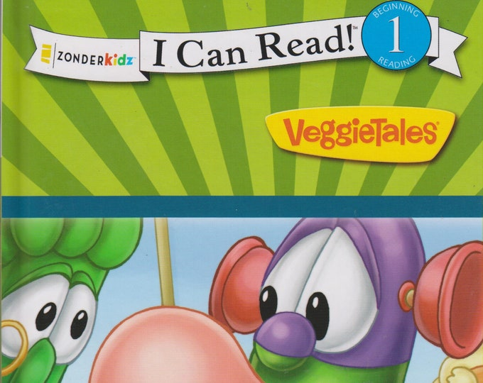 VeggieTales Bubblegum, Maps and Missing Patience  (Zonderkidz I Can Read! Level 1)(Hardcover: Children's, Early Readers, Christian)  2012