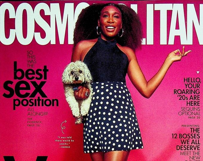 Cosmopolitan October 2021 Venus Williams   (Magazine: Women's)