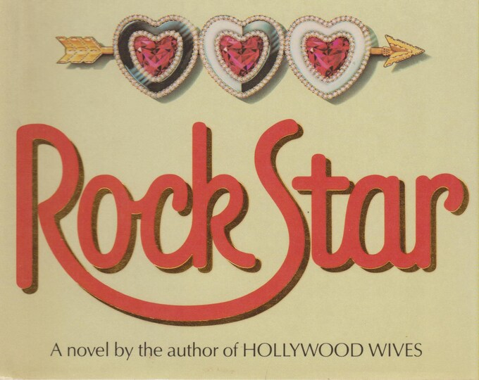 Rock Star by Jackie Collins (Hardcover, Fiction) 1988