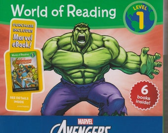 Marvel Avengers Box Set  6 Books (World of Reading Level 1 ) 2015