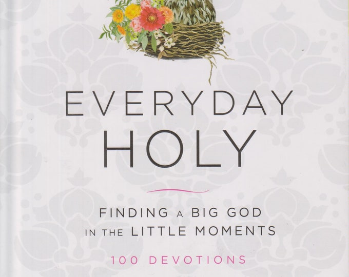 Everyday Holy - Finding a Big God in the Little Moments (Hardcover:  Religion, Devotional )  2018