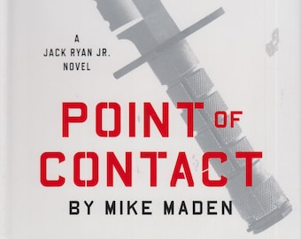 Point of Contact by Tom Clancy & Mike Maden (Hardcover; Thriller, Jack Ryan Jr.) 2017