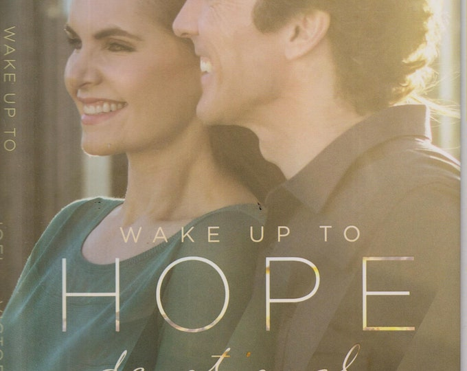 Wake Up To Hope Devotional by Joel and Victoria Osteen (Hardcover: Religion, Inspirational, Devotional) 2016