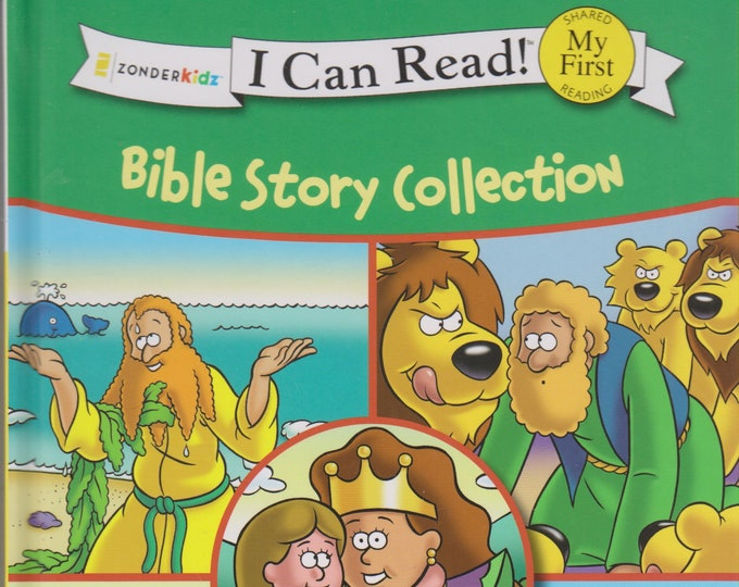 Bible Story Collection  (Zonderkidz I Can Read! My First ) (Hardcover: Children's, Early Readers, Religious) 2014