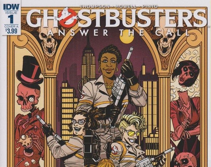 IDW Issue 1 Cover A Ghostbusters Answers The Call October 2017 First Printing (Comic: Ghostbusters)