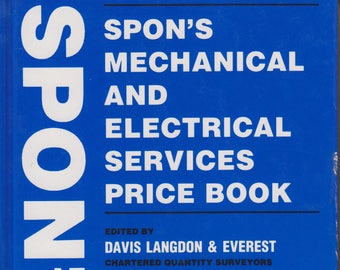 Spon's Mechanical and Electrical Services Price Book (Hardcover: Business,  Construction) 2000