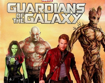 Marvel Guardians of the Galaxy Protecting The Galaxy Coloring & Activity Book (Softcover: Marvel, Coloring Books)