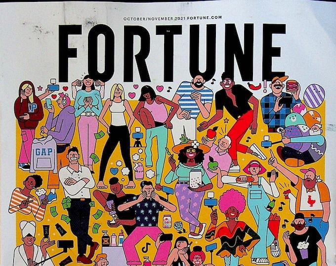 Fortune October November 2021 Businesses Discovers TikTok  (Magazine: Finance, Business)