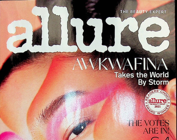 Allure  June July 2021 Awkwafina Takes the World BY Storm (Magazine: Beauty)