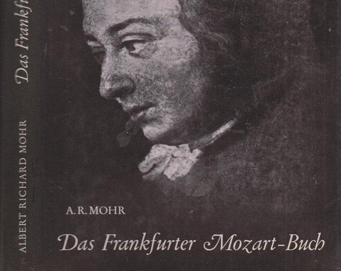 Das Frankfurter Mozart-Buch  (in German) (Hardcover, Music, Mozart) 1968