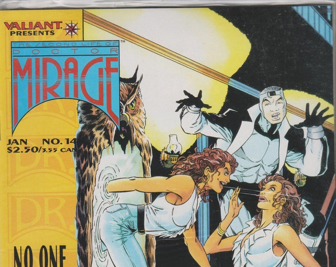 Valiant No. 14  The Second Life of Doctor Mirage - No One Escapes The House of Fear! (Comic:Doctor Mirage) 1995