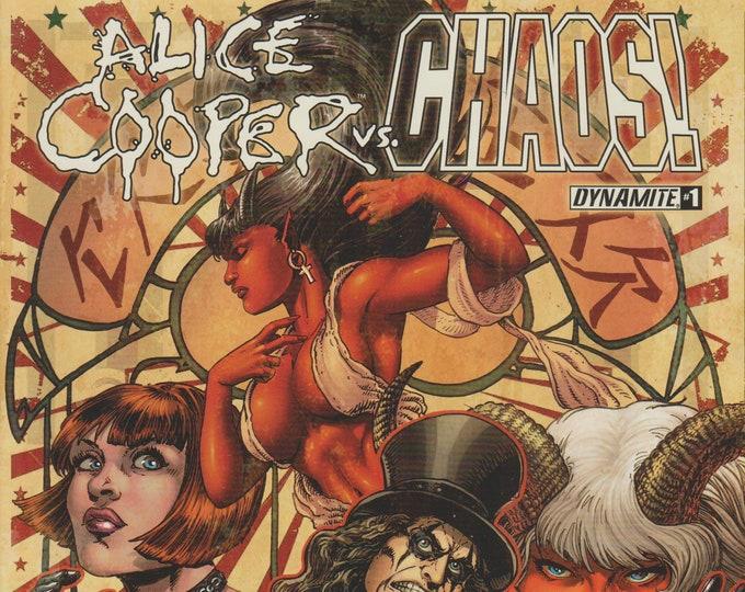 Dynamite #1 Alice Cooper vs. Chaos!  (Comic: Alice Cooper)  2014