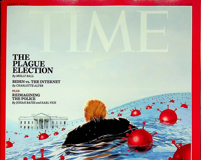 Time August 17/24, 2020 The Plague Election (Magazine: Current Events, News)