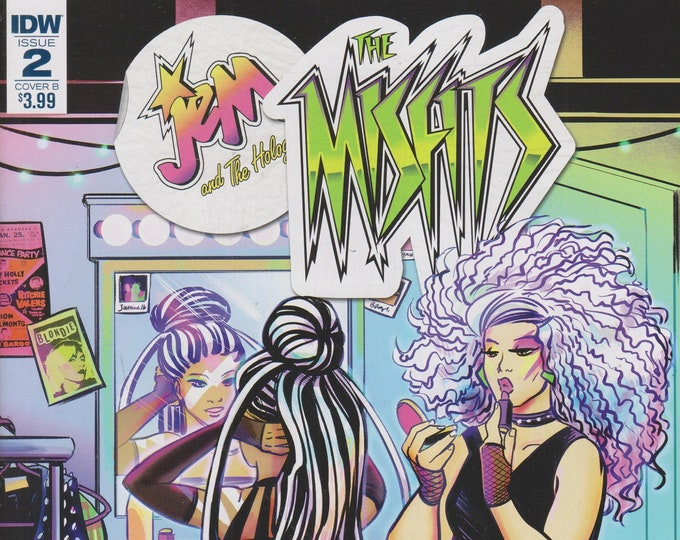 IDW Issue 2 Cover B Jem and the Misfits Infinite Part 4 July 17 First Printing  (Comic: Jem and the Misfits)