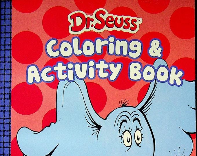 Dr. Seuss Coloring and Activity Book - Horton Hears a Who!  (Coloring Book:  Dr. Seuss) 2020