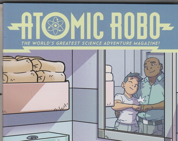 IDW Issue 5 Cover A Atomic Robo - The Spectre of Tomorrow  (Comic: Atomic Robo) 2018