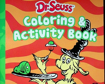 Dr. Seuss Coloring and Activity Book - Green Eggs and Ham! (Coloring Book:  Dr. Seuss) 2020