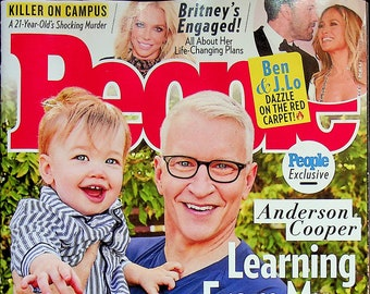 People September 27, 2021 Anderson Cooper Learning From My Family's Painful Past (Magazine: Celebrity, General Interest)